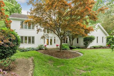 Pepper Pike Single Family Home Active Under Contract: 31900 Cedar Road