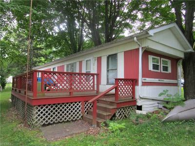Andover Single Family Home For Sale: 6994 Pymatuning Lake Road
