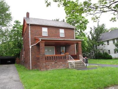 Cleveland Single Family Home For Sale: 3860 E 149th Street