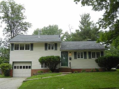 Parma Heights Single Family Home Active Under Contract: 5867 Calamie Drive