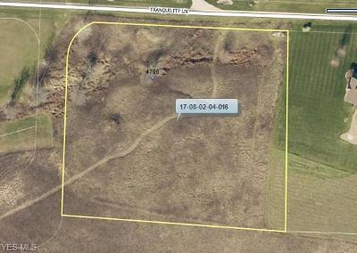 Zanesville Residential Lots & Land For Sale: 4795 Tranquility Lane