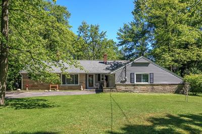 Willoughby Hills Single Family Home Active Under Contract: 35405 Dixon Road