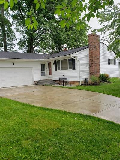 North Olmsted Single Family Home Active Under Contract: 24420 Rosita Lane