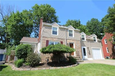 Wickliffe Single Family Home For Sale: 59 Arlington Circle