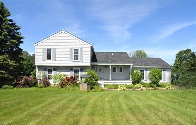 Chardon Single Family Home For Sale: 13396 Auburn Road
