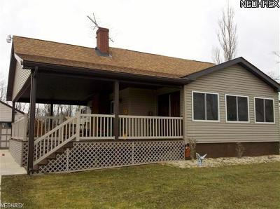 Wellsville Single Family Home Active Under Contract: 42753 Irondale Road