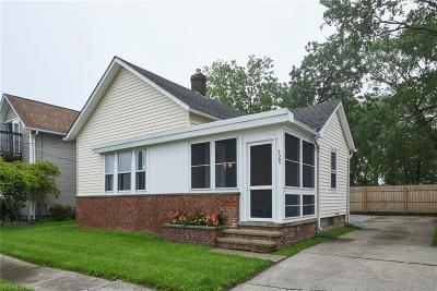 Lorain OH Single Family Home For Sale: $110,000