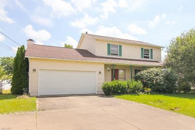 Single Family Home Active Under Contract: 5190 Fenn Road
