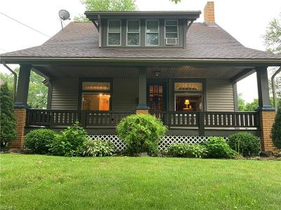 Youngstown Single Family Home For Sale: 139 Meadowbrook Avenue