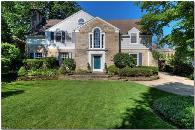 Shaker Heights Single Family Home For Sale: 2700 Landon Road