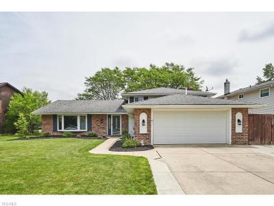 Strongsville Single Family Home Active Under Contract: 17122 Partridge Drive