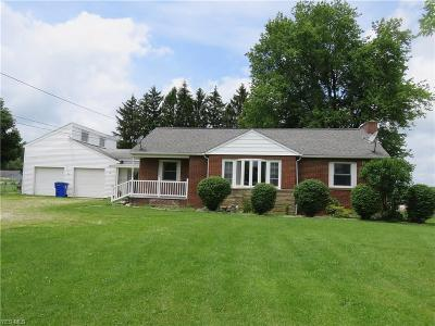 Ravenna Single Family Home Active Under Contract: 1405 Sandy Lake Road