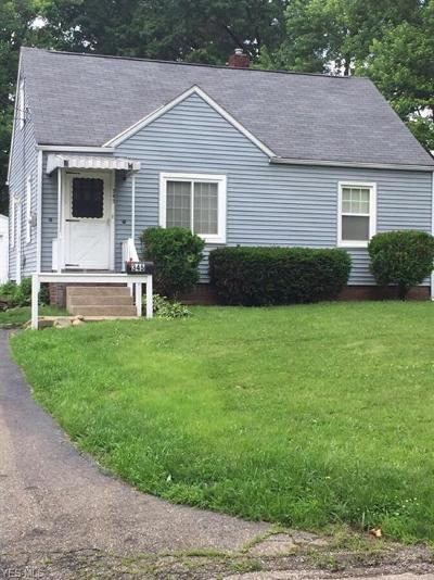 Massillon Single Family Home For Sale: 345 27th Street