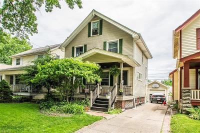 Cleveland Single Family Home For Sale: 3309 W 129th Street