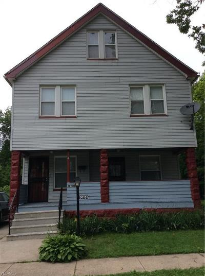 Cleveland Multi Family Home Active Under Contract: 10203 Garfield Avenue