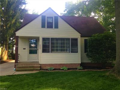 Fairview Park Single Family Home For Sale: 21445 Northwood Avenue