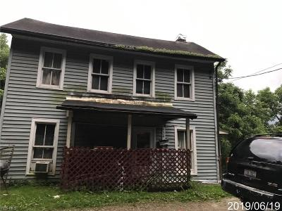Zanesville OH Single Family Home For Sale: $21,200
