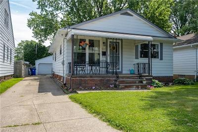 Cleveland Single Family Home Active Under Contract: 3227 W 142 Street