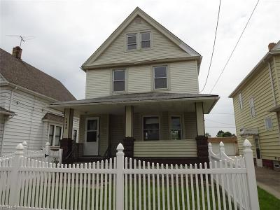 Cleveland Single Family Home For Sale: 3805 Poe Avenue