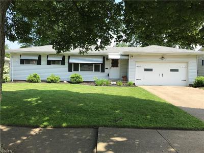 Fairview Park Single Family Home Active Under Contract: 3905 W 213th Street