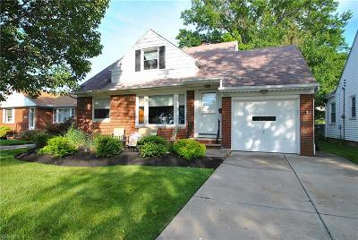 Willowick Single Family Home Active Under Contract: 29120 Cresthaven Drive