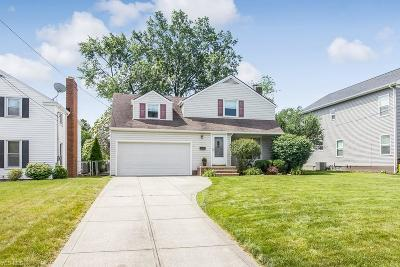 Rocky River Single Family Home Active Under Contract: 19219 Story Road