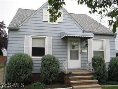 Cleveland Single Family Home For Sale: 4546 W 147th Street