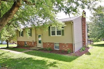 Zanesville OH Single Family Home For Sale: $139,900
