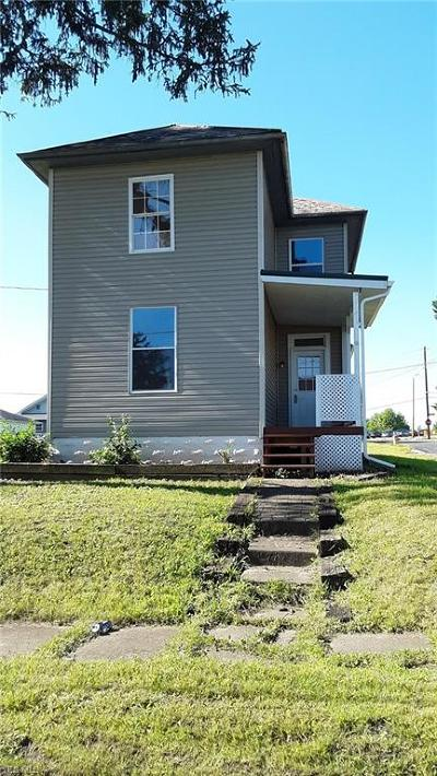 Zanesville OH Single Family Home For Sale: $109,000