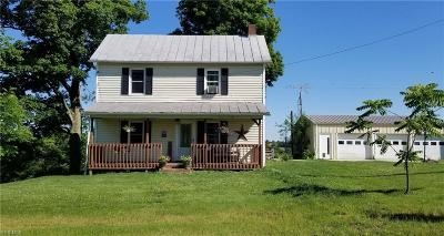 New Concord OH Single Family Home For Sale: $119,900