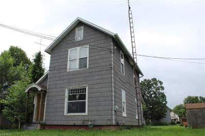 Alliance OH Single Family Home Sold: $19,900