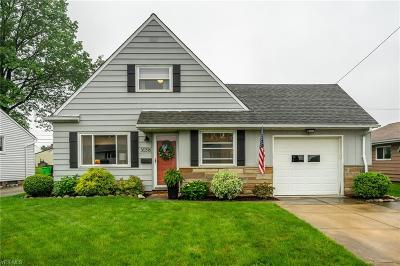 Willowick Single Family Home Active Under Contract: 30316 Vineyard Road