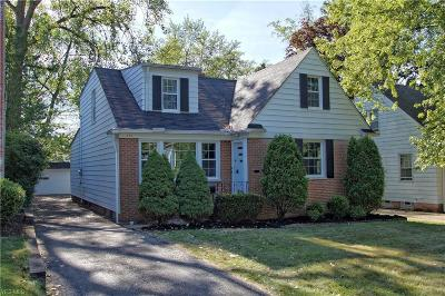 Shaker Heights Single Family Home For Sale: 3430 Colton Road