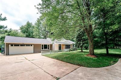 Brecksville, Broadview Heights Single Family Home For Sale: 4222 E Edgerton Road