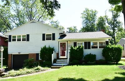 Cleveland Single Family Home For Sale: 5845 Calamie Drive