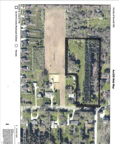Copley Residential Lots & Land For Sale: S Hametown Road