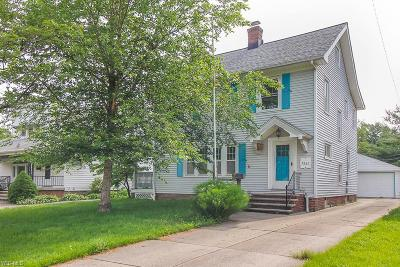 Cleveland Single Family Home For Sale: 5287 E 117th Street