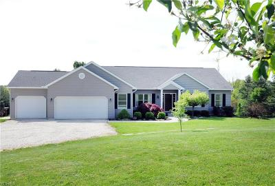 Guernsey County Single Family Home For Sale: 68397 Wintergreen Road