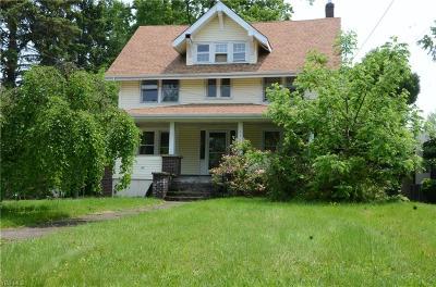 Ravenna Single Family Home For Sale: 334 N Chestnut Street