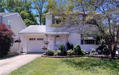 Wickliffe Single Family Home For Sale: 2220 Buena Vista Drive