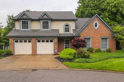 Rocky River Single Family Home For Sale: 7 S Hampton Court