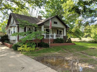 Canfield Single Family Home Active Under Contract: 8514 Tippecanoe Road