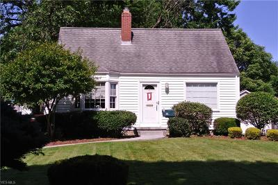 Youngstown Single Family Home For Sale: 920 S Belle Vista Avenue