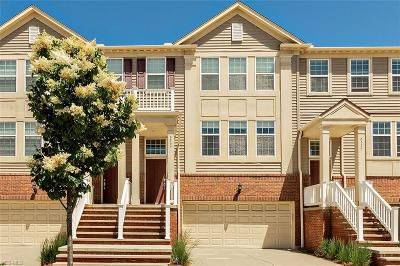 Pepper Pike Condo/Townhouse For Sale: 6365 Park Pointe Court