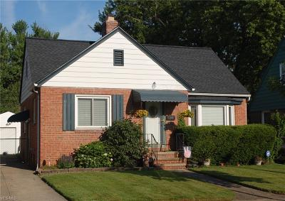 Single Family Home Active Under Contract: 3234 W 139th Street