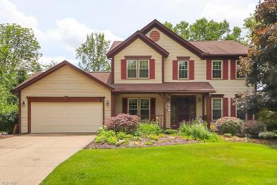 Sagamore Hills Single Family Home Active Under Contract: 814 Greenwood Parkway