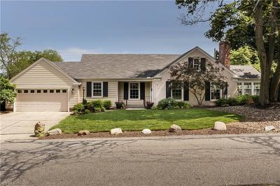 Rocky River Single Family Home Active Under Contract: 2923 Macbeth Drive