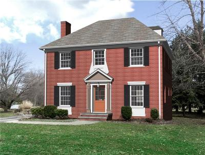 Shaker Heights Single Family Home Active Under Contract: 3268 Braemar Road