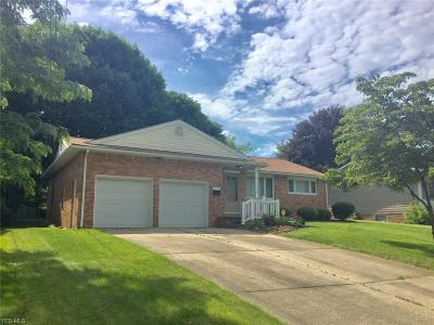 Stark County Single Family Home For Sale: 1315 Overland Avenue