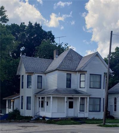 Guernsey County Single Family Home For Sale: 219 N 11th Street